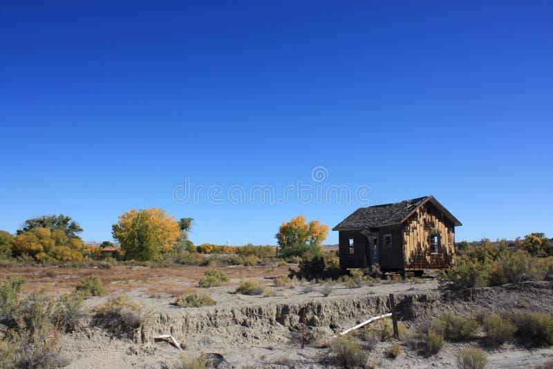krajobrazowa stara chałupa zdjęcia stock