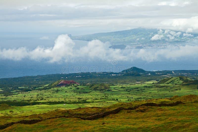 Krajobrazowi Azores obraz stock