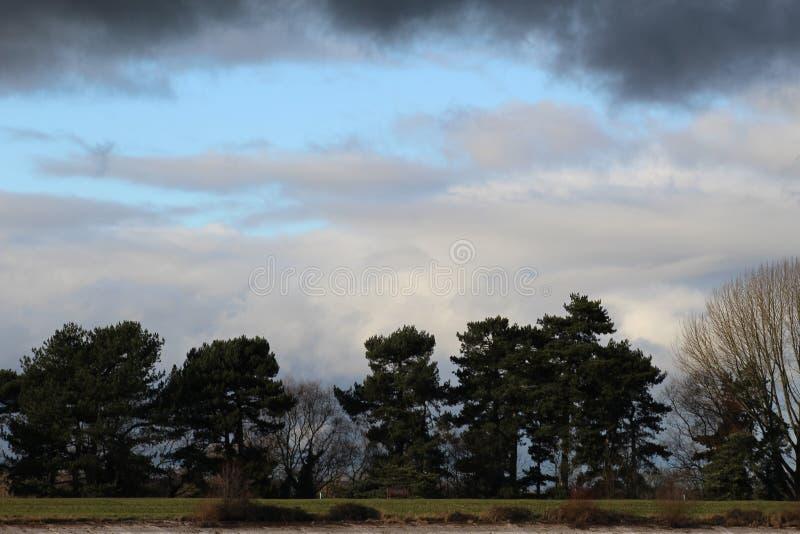 Krajobrazowi wizerunki przy Shuckstoke rezerwuarem obrazy royalty free