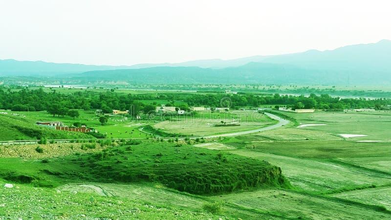 Krajobrazowy Abatabad obraz royalty free