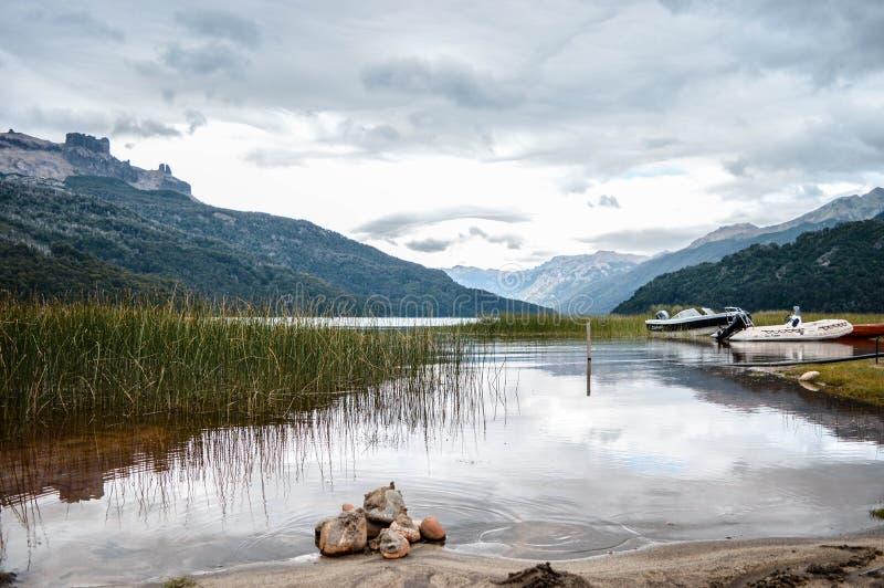 Krajobrazowy Argentina, San oknówka de los Andes obrazy stock