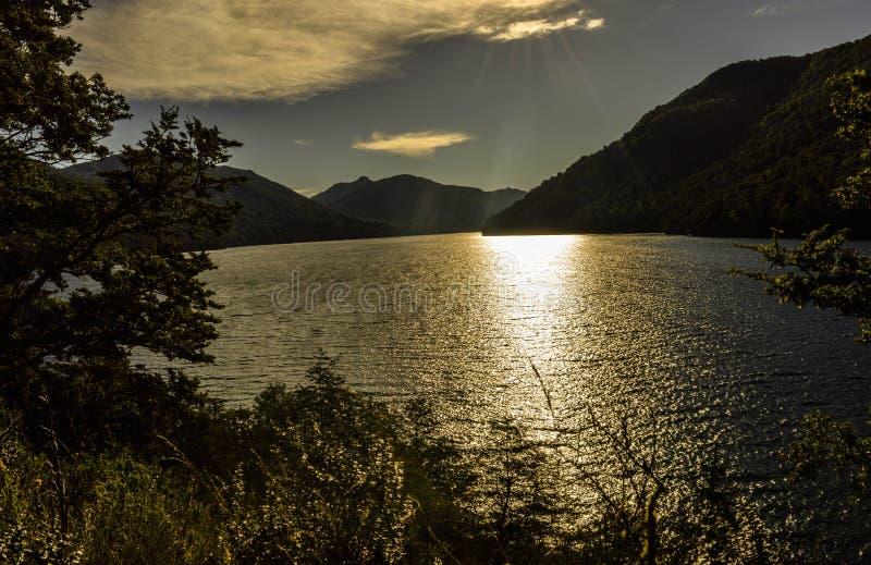 Krajobrazowy Argentina, San oknówka de los Andes fotografia stock