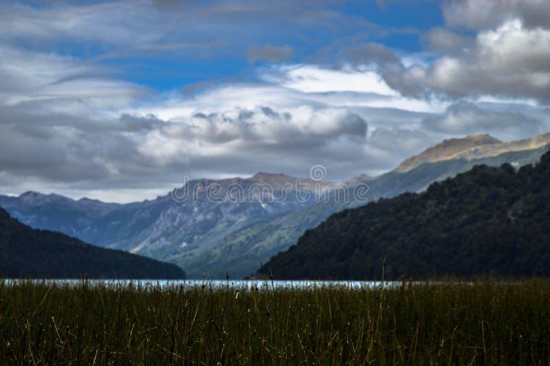 Krajobrazowy Argentina, San oknówka de los Andes fotografia royalty free