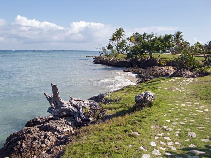 krajobrazowy Cuba morze obraz stock