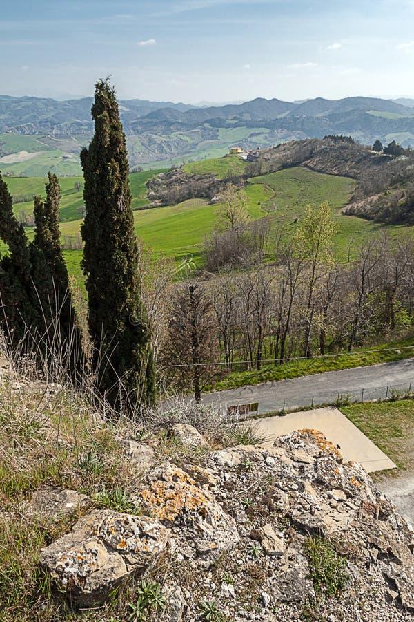 krajobrazowy Emilia romagna Italy zdjęcie stock
