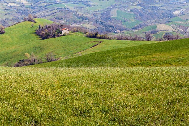 krajobrazowy Emilia romagna Italy fotografia royalty free