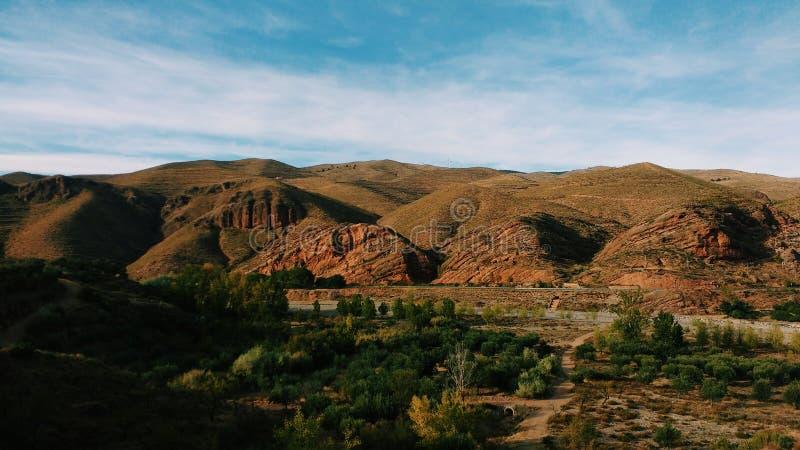 krajobrazowy halny wiejski zdjęcie royalty free