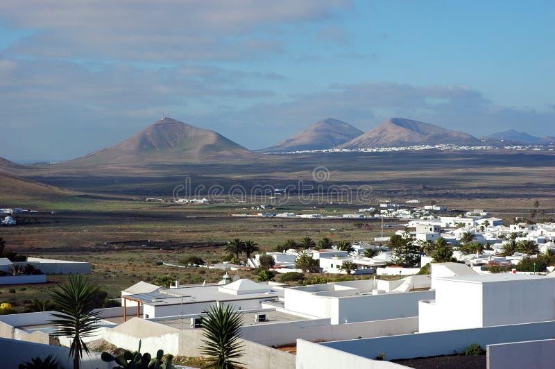 krajobrazowy Lanzarote zdjęcie stock