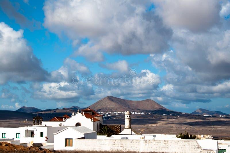 krajobrazowy Lanzarote zdjęcie royalty free