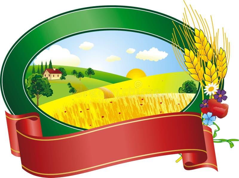 krajobrazowy logo ilustracja wektor