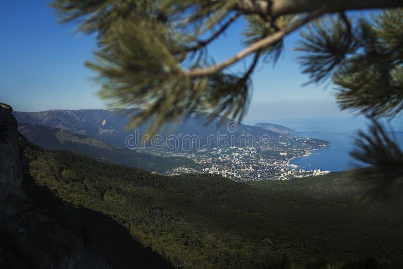 Krajobrazowy natury lato Crimea obrazy stock