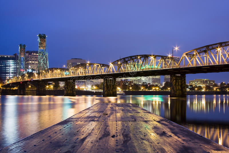 krajobrazowy Oregon Portland usa obrazy royalty free
