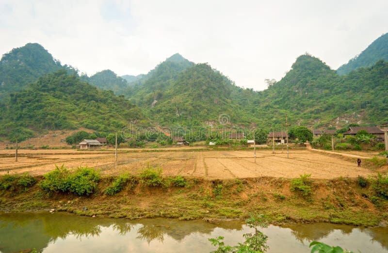 krajobrazowy północny wietnamczyk zdjęcie royalty free