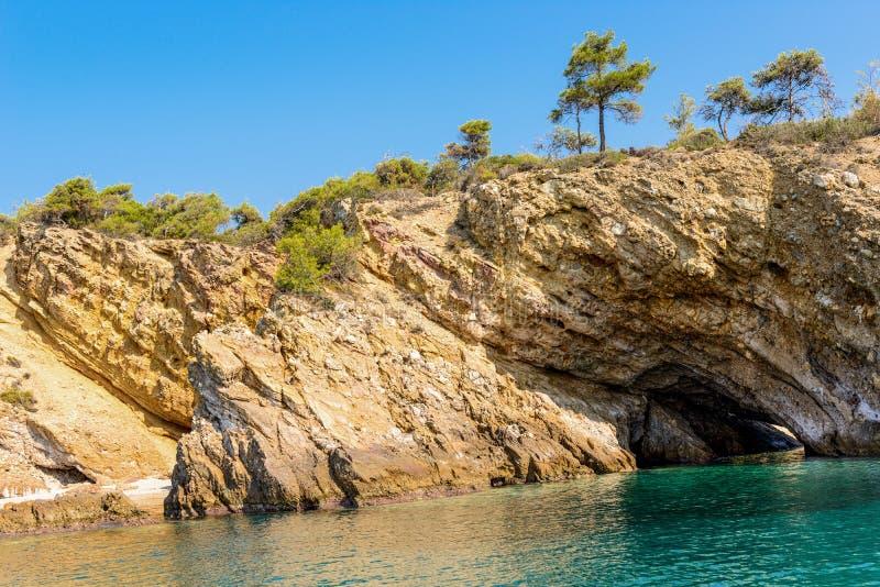 Krajobrazowy piękny morze obrazy royalty free