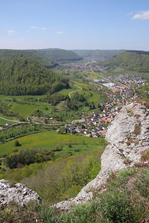 Krajobrazowy pobliski Z?y Ditzenbach zdjęcie royalty free