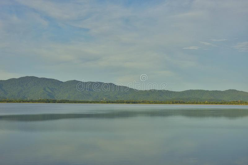 Krajobrazowy punkt zwrotny rezerwuar w Tajlandia zdjęcia royalty free