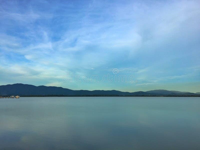 Krajobrazowy punkt zwrotny rezerwuar w Tajlandia fotografia royalty free