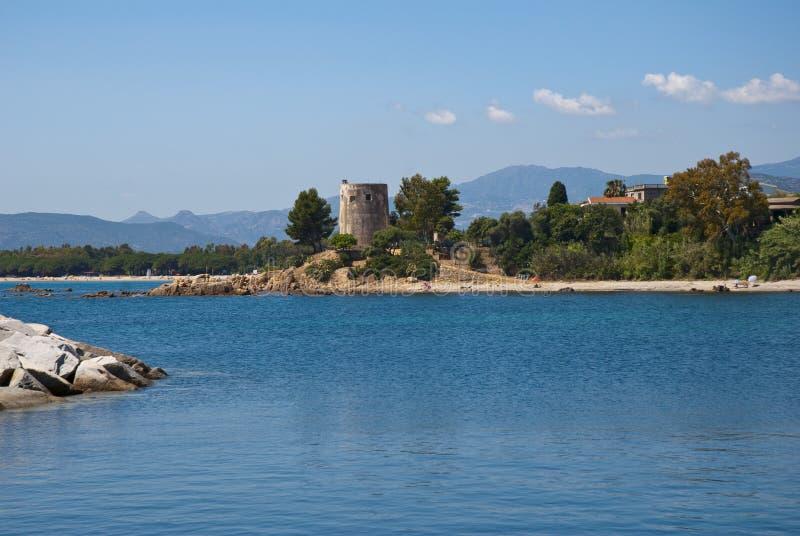 krajobrazowy Sardinia zdjęcie royalty free
