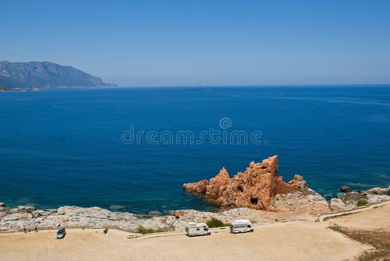 krajobrazowy Sardinia zdjęcie stock