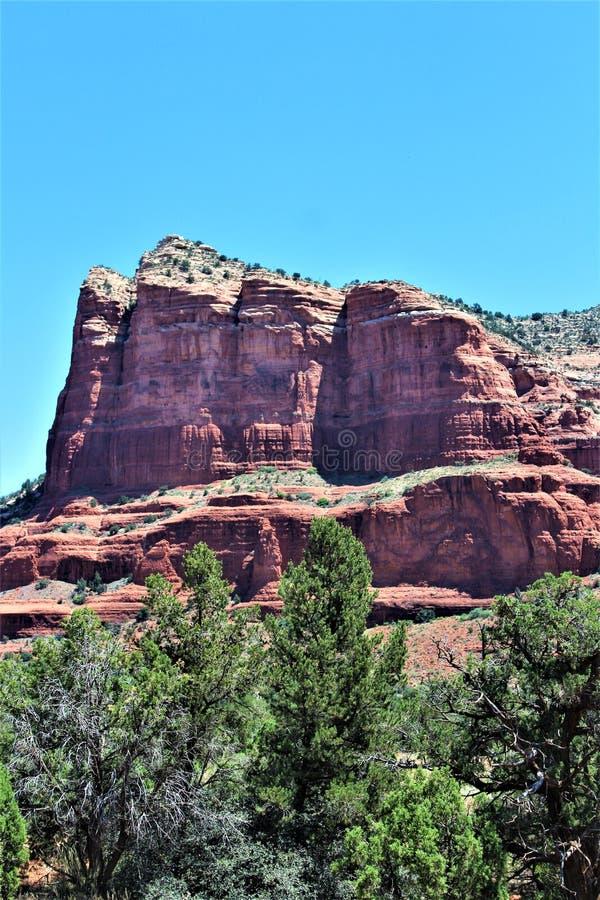 Krajobrazowy scenerii Maricopa okr?g administracyjny, Sedona, Arizona, Stany Zjednoczone zdjęcia royalty free