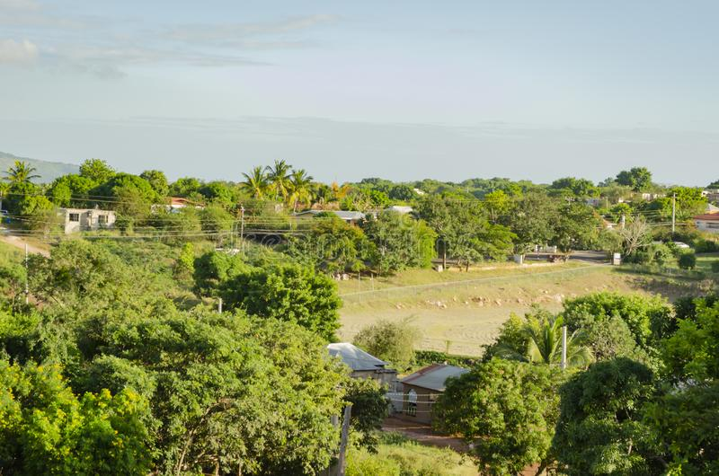 Krajobrazowy społeczności Greenery zdjęcia stock