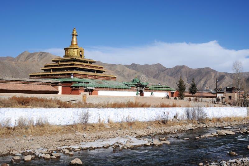 krajobrazowy Tibet obraz royalty free