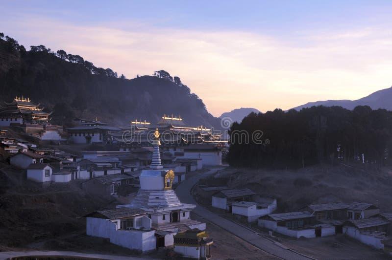 krajobrazowy Tibet obrazy stock
