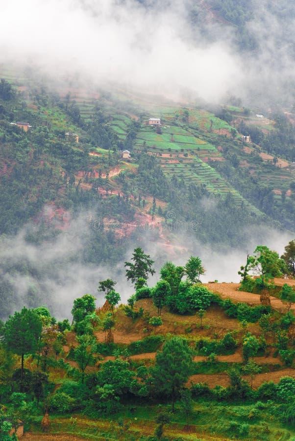 krajobrazowy Tibet fotografia royalty free