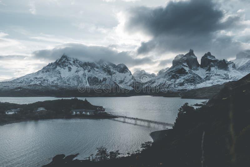 Krajobrazowy Torres Del Paine zdjęcie stock