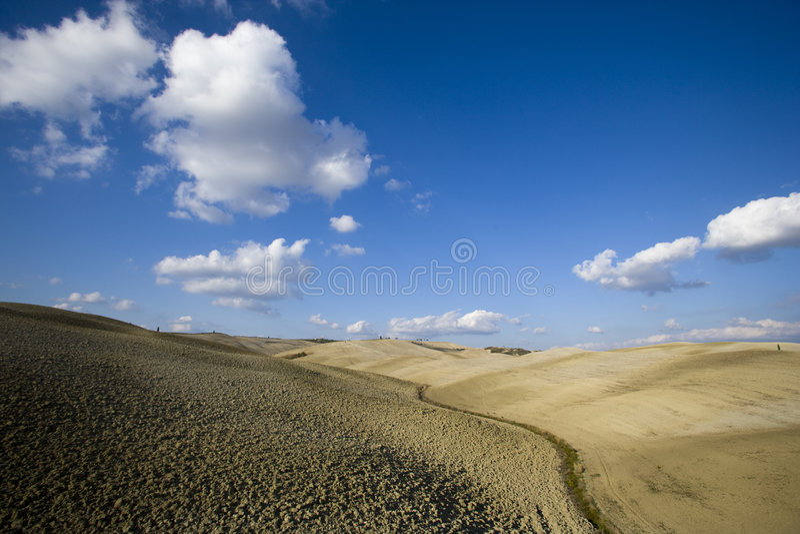 krajobrazowy Tuscan obraz royalty free
