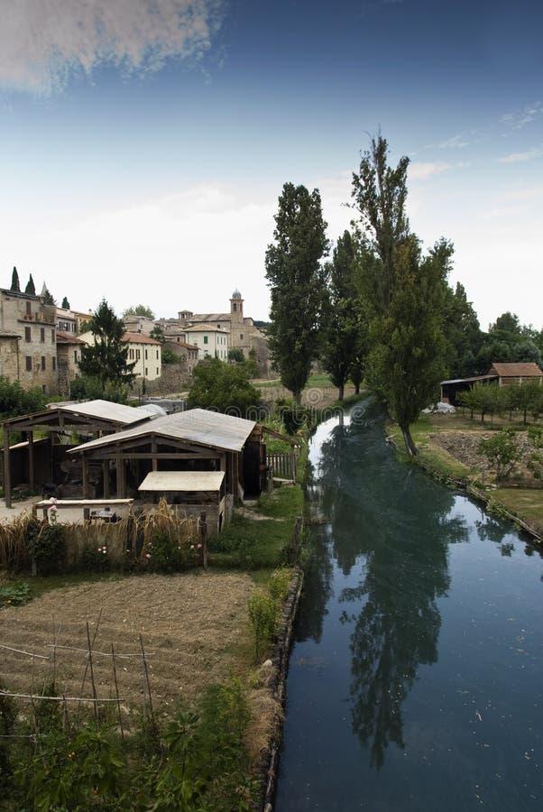 krajobrazowy Tuscany fotografia stock