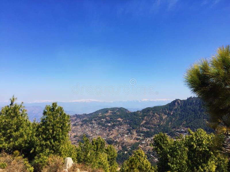 Krajobrazowy widok góry fotografia stock