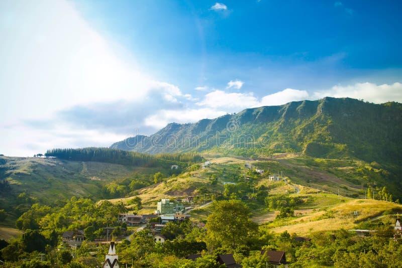 Krajobrazowy widoku dom zdjęcia stock