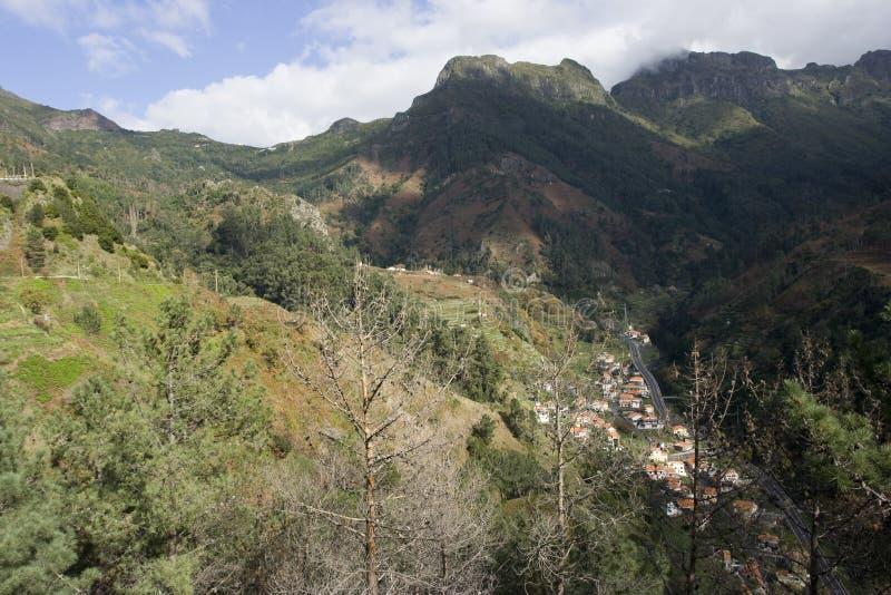 krajobrazu Madeira zdjęcia stock