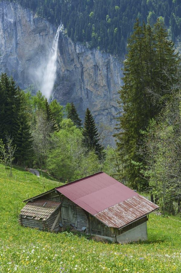 krajobrazu Szwajcarii zdjęcie stock