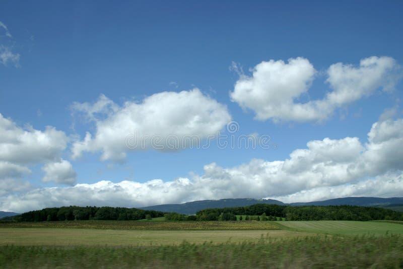 Krajobrazu Szwajcarii Obrazy Royalty Free