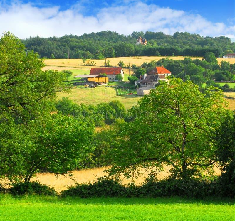 krajobrazu wiejskiego fotografia royalty free