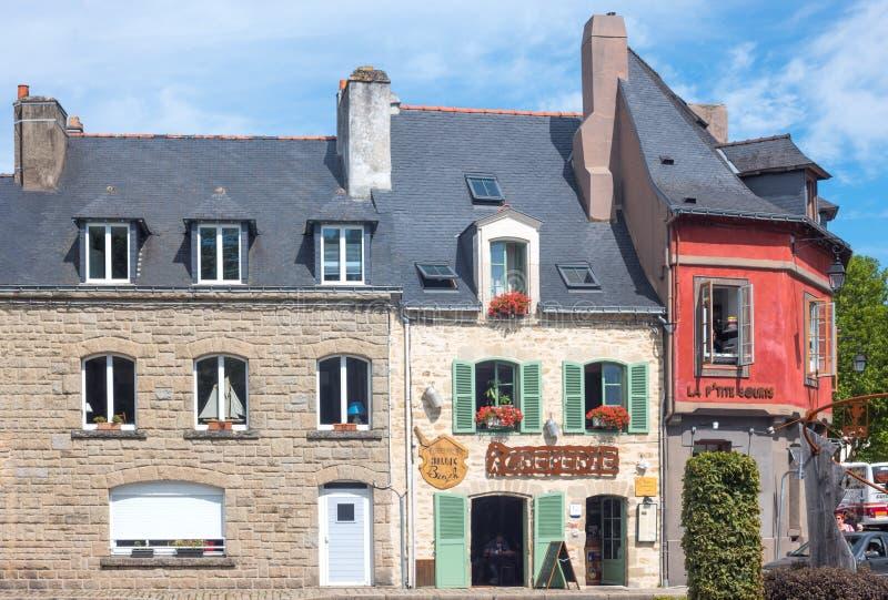Download Krajobrazy I Architektury Brittany Obraz Editorial - Obraz złożonej z horyzontalny, antyczny: 106903255
