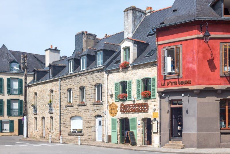 Download Krajobrazy I Architektury Brittany Obraz Stock Editorial - Obraz złożonej z fasada, kolorowy: 106903289