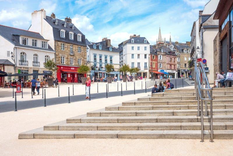 Download Krajobrazy I Architektury Brittany Zdjęcie Editorial - Obraz złożonej z dzień, europejczycy: 106903871