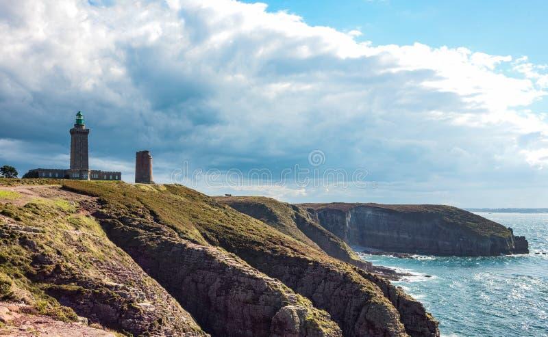 Download Krajobrazy I Architektury Brittany Obraz Stock - Obraz złożonej z atlantic, lighthouse: 106905285