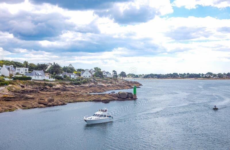 Download Krajobrazy I Architektury Brittany Fotografia Editorial - Obraz złożonej z ocean, francja: 106907992