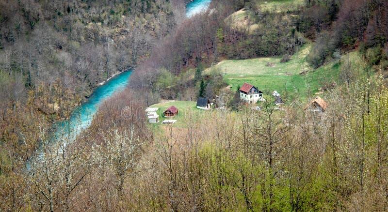 Krajobrazy Montenegro obrazy royalty free