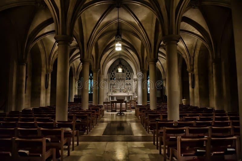 Krajowa katedra zdjęcie royalty free