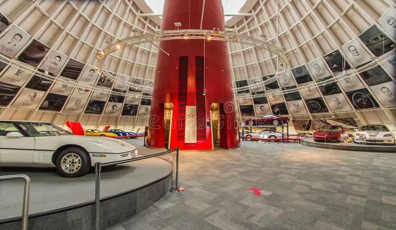 Krajowa korwety muzeum rotunda obrazy royalty free