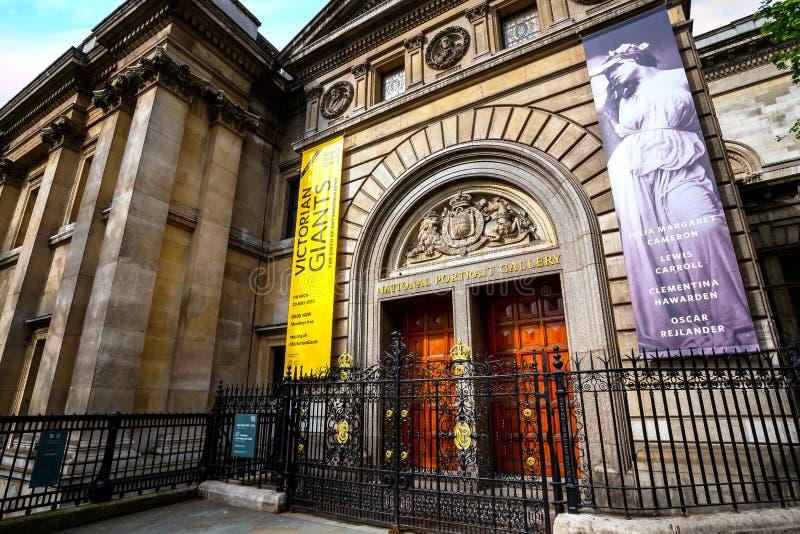 Krajowa portret galeria w Londyn, UK zdjęcia royalty free