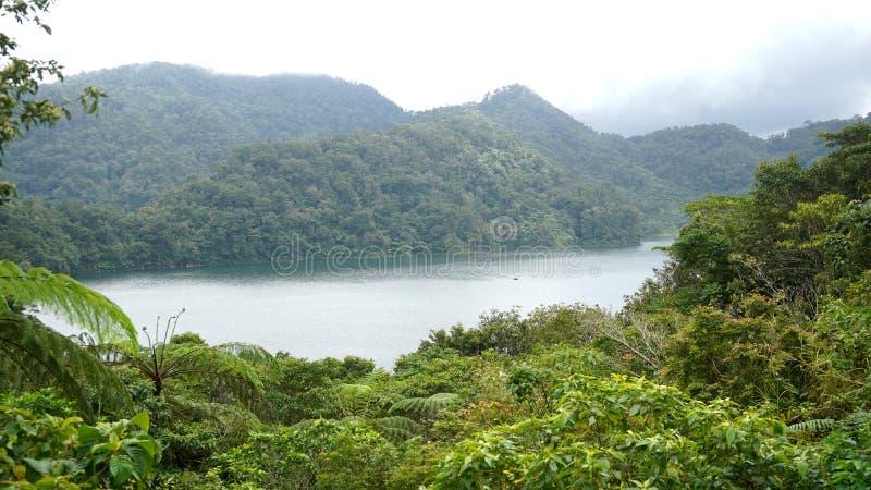 Krajowego parc Bliźniaczy jeziora, Dumaguete, filipińczyk fotografia royalty free