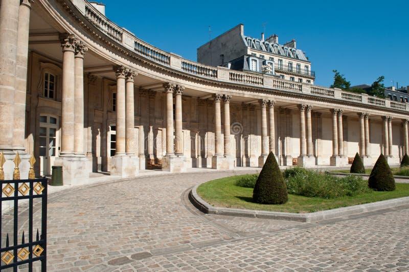 Krajowi archiwa uprawiają ogródek w Marais okręgu w Paryż, fotografia stock
