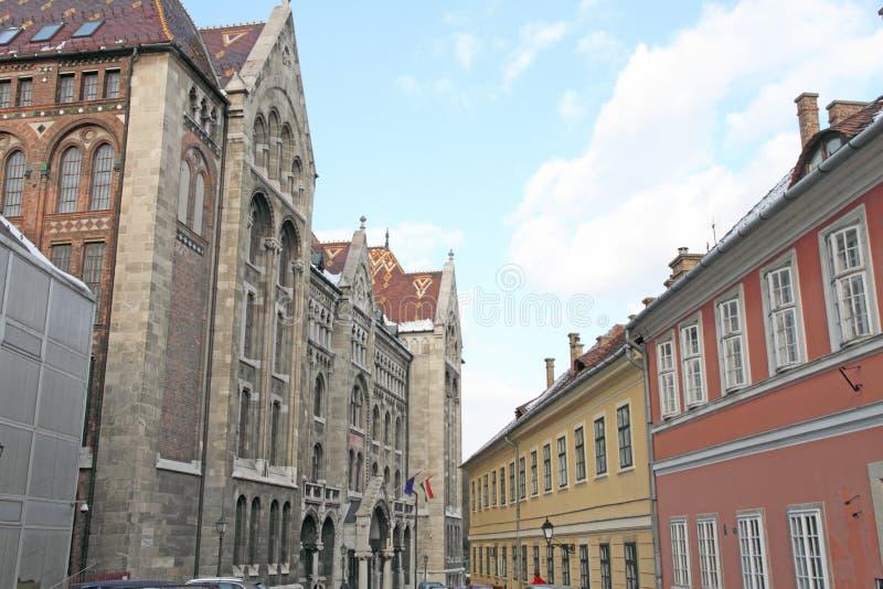 Krajowi archiwa Węgry Budapest fotografia royalty free