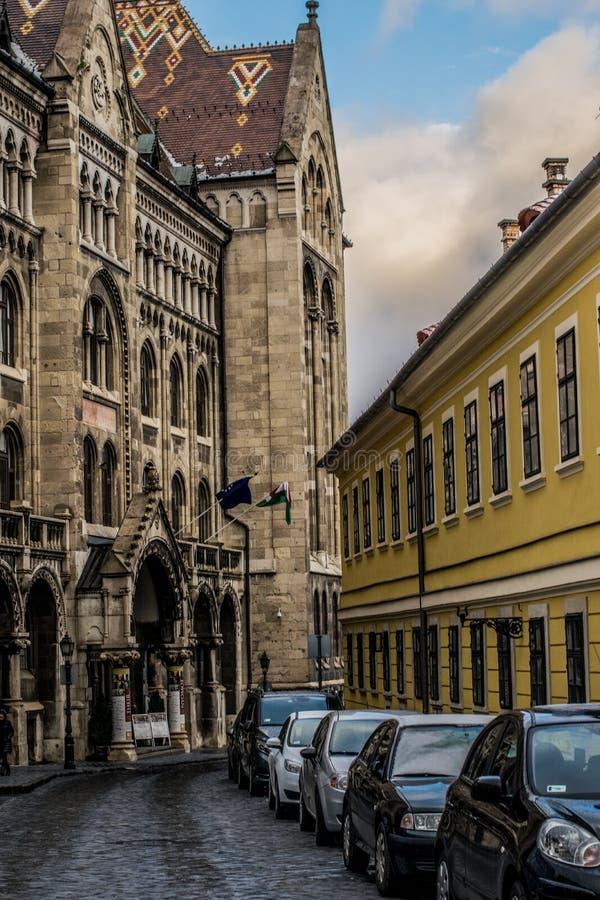 Krajowi archiwa Węgry, Budapest zdjęcia royalty free